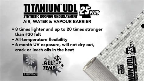 synthetic roof underlayment vs felt titanium udl 25 plus 1 selling synthetic roofing