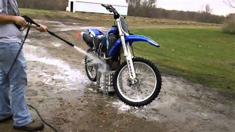 how to clean motocross how to wash dirt bike youtube