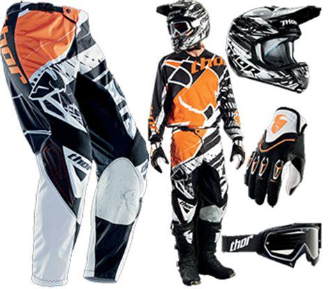 Ktm Gear Aomc Mx 2014 Thor Gear Black Orange White