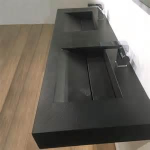 plan vasque salle de bain suspendu 141x46 cm
