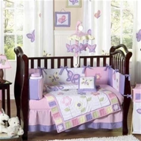 Purple Nursery Bedding Sets Floral Crib Sets Baby Bedding