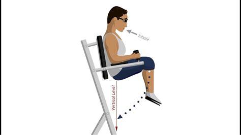 roman chair leg raise abdominal exercises youtube