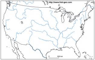 map of the united states mountains and rivers blank us map with rivers and mountain ranges