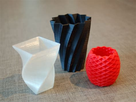 Square Vase, Cup, and Bracelet Generator by Eckerput   Thingiverse