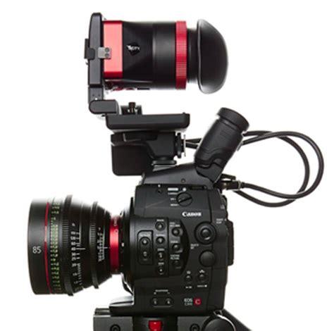 deity mira viewfinder for canon c300 / 500 cameras genustech