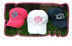 monogramed items monogrammed hats home decoration club