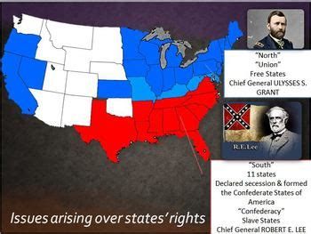 sectionalism and states rights civil war ppt lesson 2 causes of civil war sectionalism