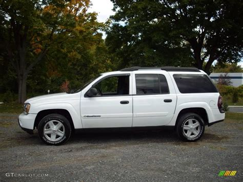 chevrolet trailblazer white 2003 summit white chevrolet trailblazer ext ls 4x4