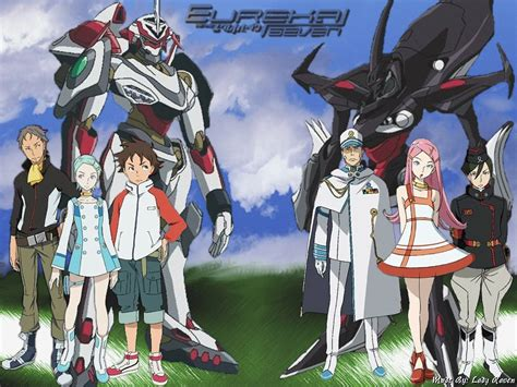 anime or my shiny robots anime review eureka seven