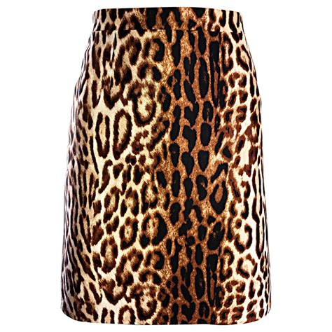 by michael kors 1990s leopard print high waisted
