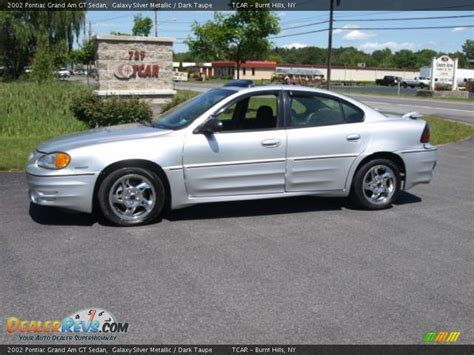 Pontiac Grand Am Gt 2002 by 2002 Pontiac Grand Am Gt Sedan Galaxy Silver Metallic
