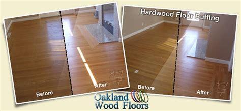 Buffing Waxed Floors by Buff Recoat Oakland Wood Floors