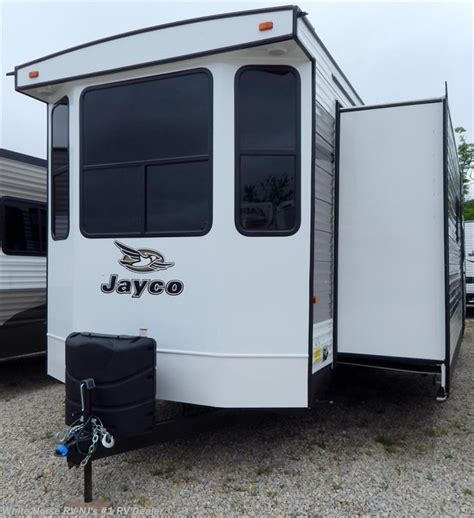 2 bedroom destination trailers 2016 jayco rv bungalow 40bhts front kitchen 2 bedroom