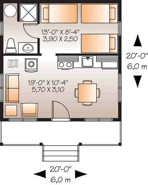 plans for 400 square foot apartment studio design