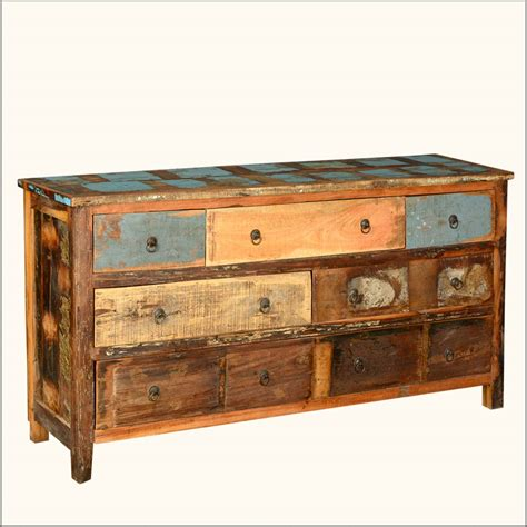 Blue Distressed Dresser by Cool Distressed Dresser On Cottage Antique