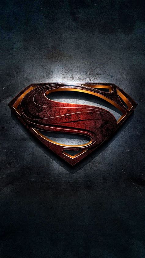 superman logo wallpaper  iphone gallery