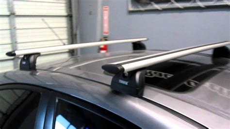 2008 Mazda 3 Roof Rack by 2008 Mazda 3 Sedan With Thule 460r Podium Aeroblade Roof