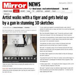 Free Articles Ben Heine Art News Article In Daily Mirror Uk January