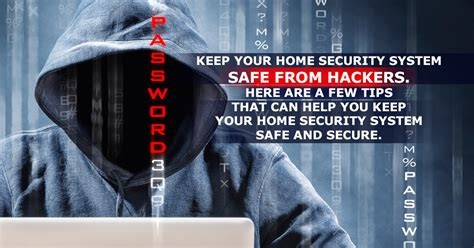 how to protect your home security system from being hacked