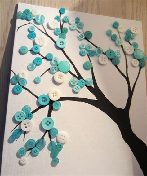 diy crafts for home decor button tree crafts pinspirations diy wall just call me martha stacey