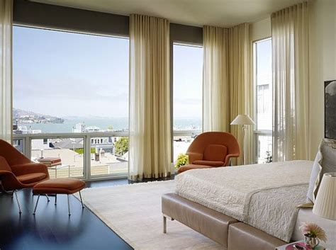 curtains floor to ceiling windows master bedroom with floor to ceiling drapery decoist