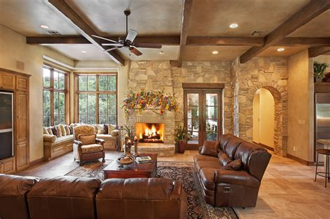 decorating living room country style hill country style rustic living room