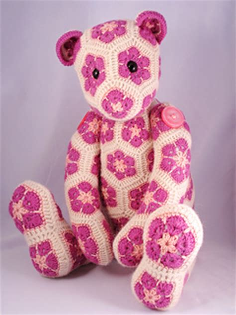 free pattern heidi bears ravelry lollo the african flower bear pattern by heidi bears