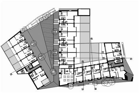Plan Ground Floor Gallery Of Timberyard Social Housing O Donnell Tuomey