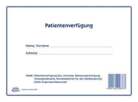 Avery Folie Muster by Avery Zweckform Patientenverf 252 Gung Papersmart