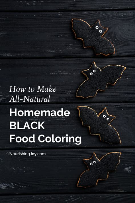 how to make black food coloring food coloring