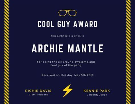 cool certificate templates certificate templates canva