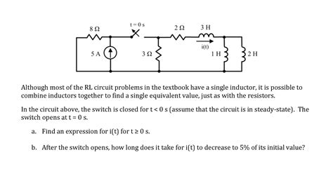 inductor transient circuit inductor circuit problems 28 images ppt announcements powerpoint presentation id 622854