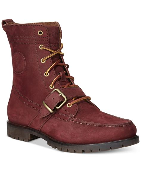 polo boots for polo ralph ranger boot in for lyst