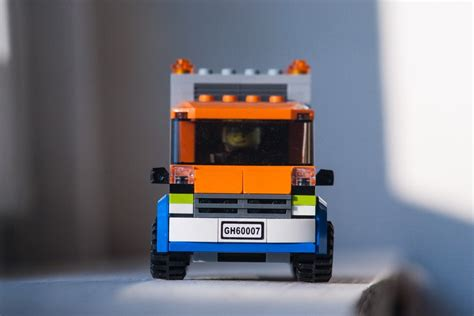tutorial lego truck moc orange delivery truck tutorial lego town