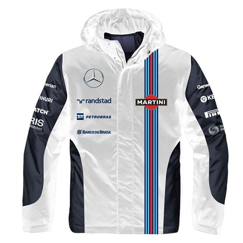 vesper martini racing williams martini racing s team 2 in 1 jacket ebay