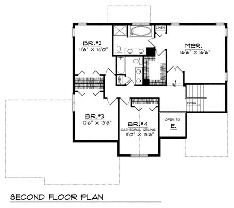 2800 sq ft house plans traditional style house plan 4 beds 2 5 baths 2800 sq ft