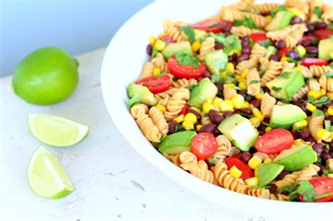 mexican pasta salad a communal table mexican lentil pasta salad gluten free the fit foodie mama