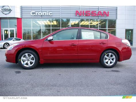 red nissan altima 2009 red brick metallic nissan altima 2 5 sl 11668831