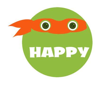printable ninja turtle birthday banner 6 best images of happy birthday ninja turtle printable