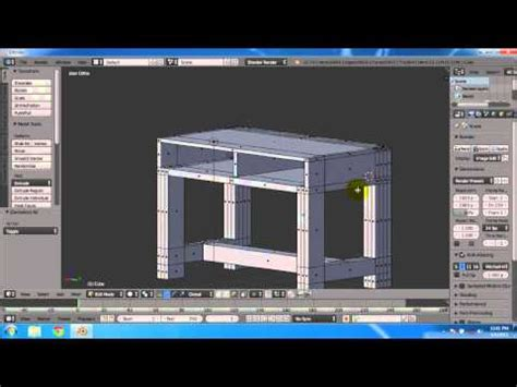 tutorial blender membuat meja tutorial blender membuat meja kursi buku dan gelas youtube