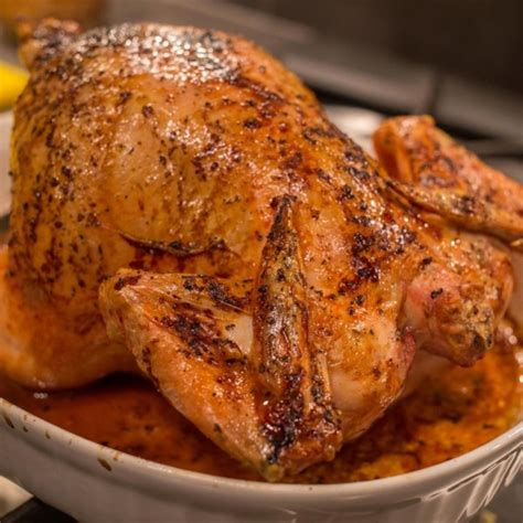 roasted whole chicken simple whole roasted chicken photos allrecipes com
