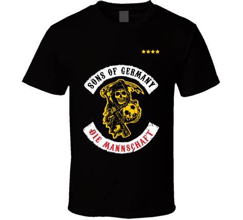 T Shirt Hooligans sons of germany football soccer hooligan t shirt