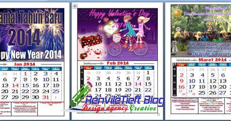 desain kalender gratis download gratis desain kalender 2014 keren dan unik dengan