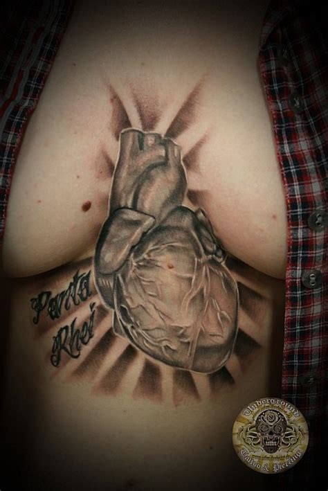 tattoo realistic heart heart chest tattoos for women sex porn images