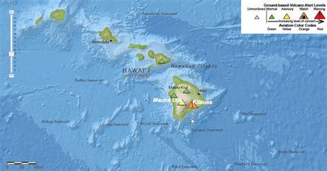 volcanoes in hawaii map hawaii volcano 2018 map active volcanoes in hawaii