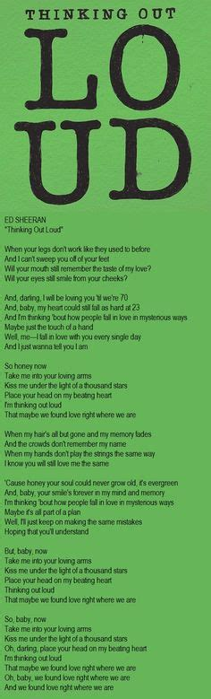 ed sheeran one lyrics meaning thinking out loud ed sheeran one of my favorite songs