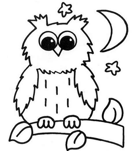 imagenes para colorear buhos lechuza dibujos para pintar ideas de buho pinterest