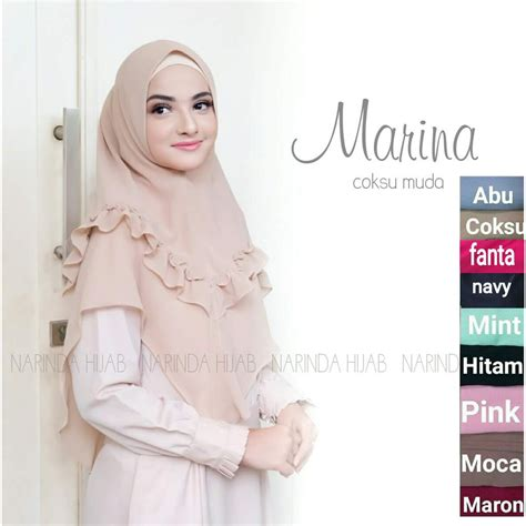 style hijab syar  simple remaja tutorial hijab terbaru