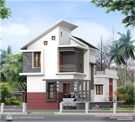 1197 Sq Ft 3 Bedroom Villa In 3 Cents Plot Home Kerala Plans Small House Plans Kerala