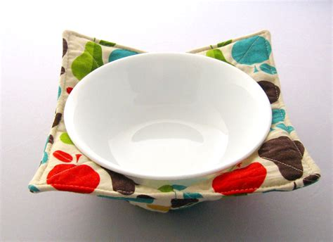sewing pattern bowl holder pot holder microwave bowl cozy kitchen utensil by